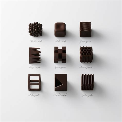 architect gifts nendo s sculptural truffles make for a perfect architect s