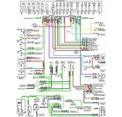 Instrument Cluster Wiring Diagrams Of 1987 Ford Mustang