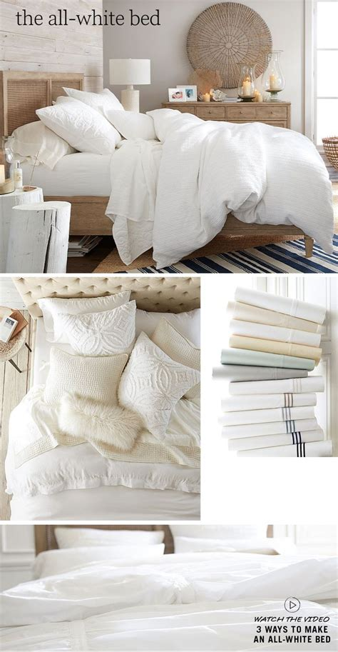 pottery barn white comforter 25 best ideas about pottery barn bedrooms on pinterest