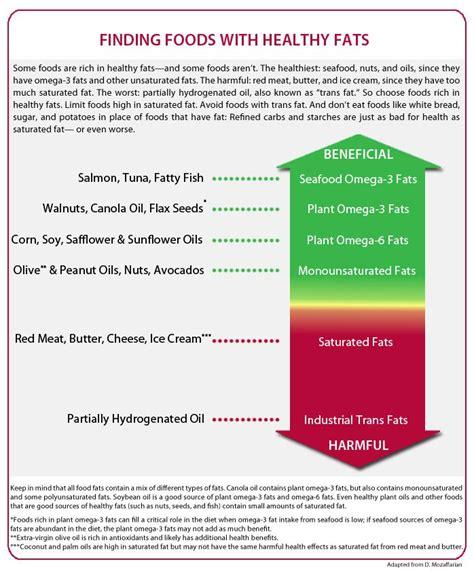 50 healthy fats healthy fats quot chart quot