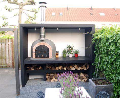 tuinhuis met buitenkeuken tuinhuis inclusief pizzaoven keuken voor buiten