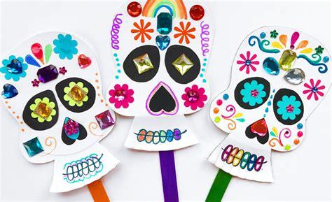 dia de los muertos crafts for d 237 a de los muertos day of the dead sugar skull craft