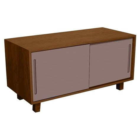 Modern Vintage Furniture Uk by Buy Fusion Living Modern Retro Walnut And Grey Tv Table