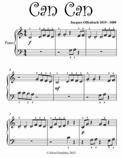 keyboard beginner tutorial pdf can can beginner piano sheet music pdf by jaques offenbach