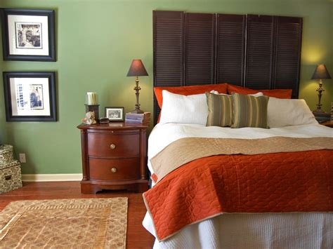 green colour schemes for bedrooms naturally sophisticated green hgtv