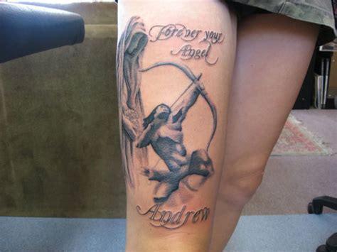 bow hunting tattoos 25 fantastic tattoos creativefan