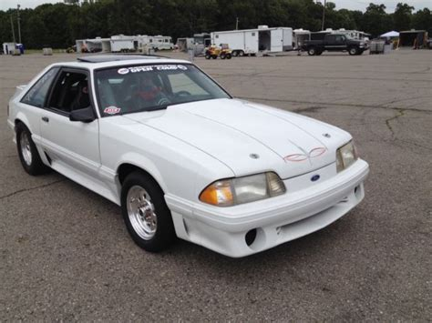 mustang 600 hp 1988 mustang gt 600 hp pro race car for sale