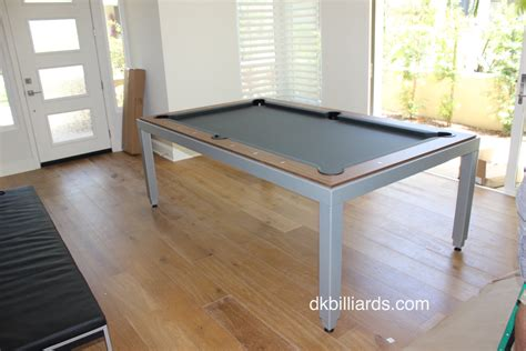 Dining Pool Table Combo Dk Billiards Service Orange Dining Pool Table Combo