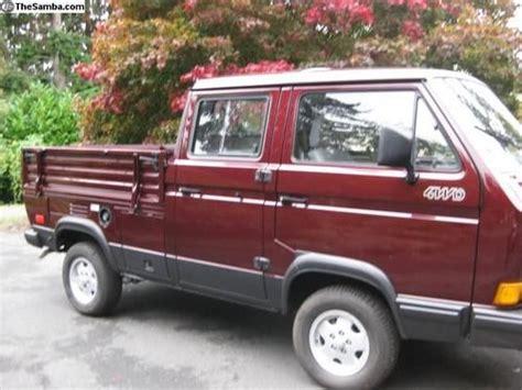 purchase new tristar vw vanagon syncro 4 wheel drive doka