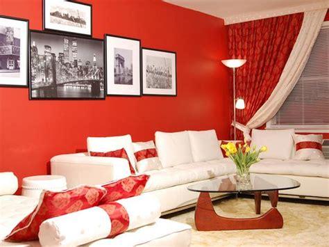 Como Decorar Un Salon Comedor Pequeno #10: Decora%C3%A7%C3%A3o-de-salas-com-parede-vermelha6.jpg