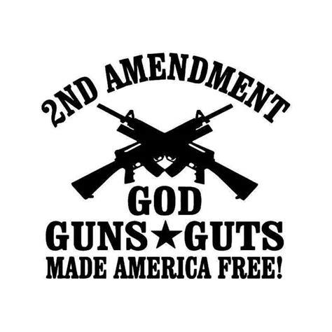 2nd Amendment Stickers