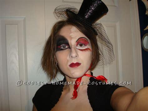 broken doll costume diy costume idea broken doll that reveals the
