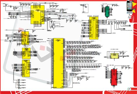 iphone motherboard layout apple iphone 4 8gb 16gb 32gb schematics and hardware