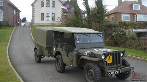 jeep trailer for sale 1942 willys ford gpw ww2 jeep and trailer