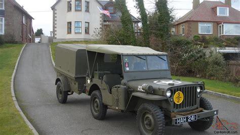 Ww2 Jeep Trailer For Sale 1942 Willys Ford Gpw Ww2 Jeep And Trailer