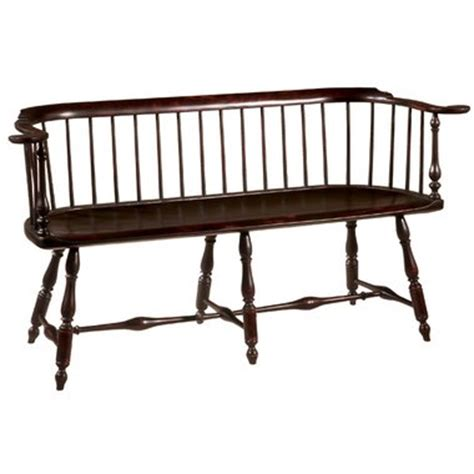 Low Back Settee Bench D R Dimes Philadelphia Lowback Settee Chairs