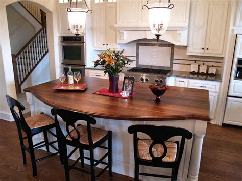Kitchen Island Wood Countertop by Afromosia Custom Wood Countertops Butcher Block