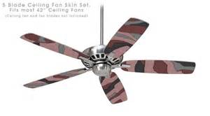 camouflage ceiling fans camouflage pink ceiling fan skin kit fits most 42 inch