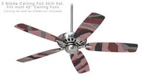 Camouflage Ceiling Fan Camouflage Pink Ceiling Fan Skin Kit Fits Most 42 Inch
