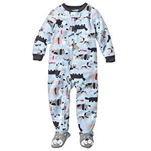 Blanket Sleeper Pajamas by S Boys Quot Blue Puppy Dogs Quot Micro Fleece