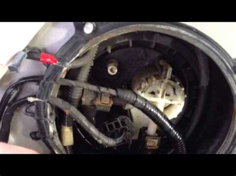 volvo xc fuel pump replacement xc    youtube