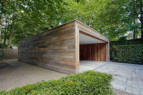 moderne carports moderne carport in hout bogarden carport