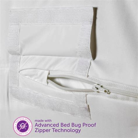 Mattress Protector Bed Bugs by Allerease Bed Bug Allergy Protection Zippered