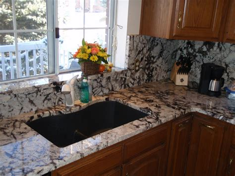 granite kitchen backsplash height granite backsplash pearl lumi white