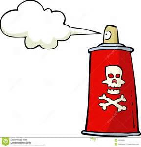 Kitchen Settings Design poison spray stock vector image 42089592
