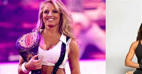 trish stratus test former wwe diva trish stratus has a totally different