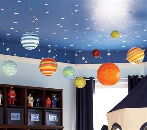 solar system room decor painted perfection on room ceilings kidspace interiors