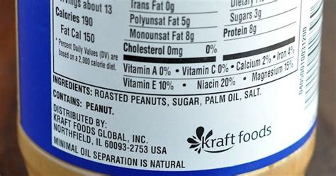 Planters Peanut Butter Nutrition Facts by Planters Peanut Butter Nutritional Label Jpg 630