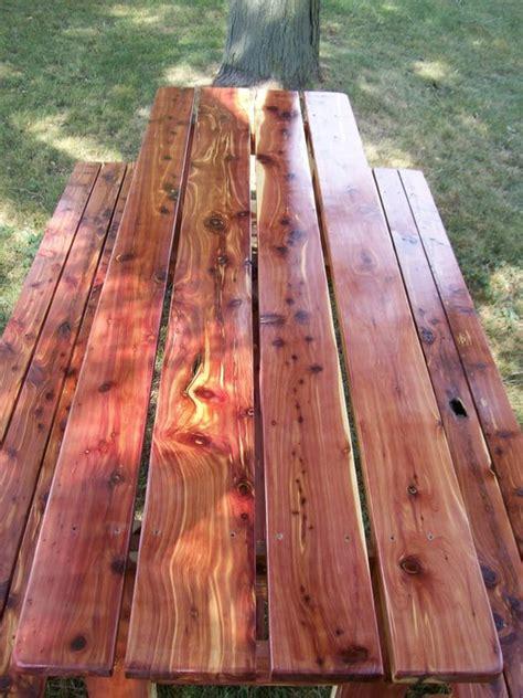aromatic cedar table  benches  sawfun