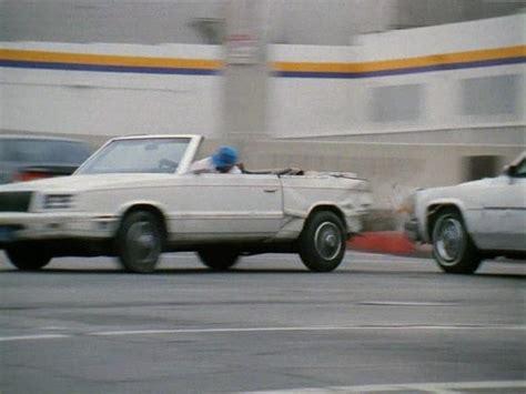 1998 chrysler lebaron imcdb org 1982 chrysler lebaron convertible in quot recoil 1998 quot