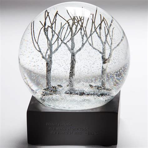 smithsonian winter snow globe quot winter solitude in a
