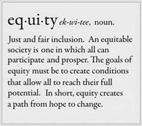 social challenge definition equity quotes quotesgram