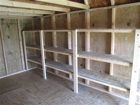 3 ways to organise a shed