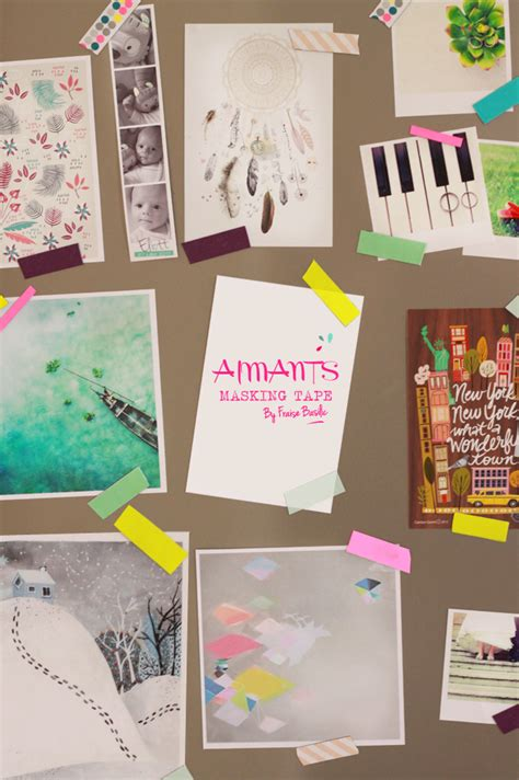 what to do with washi tape diy aimants masking tape