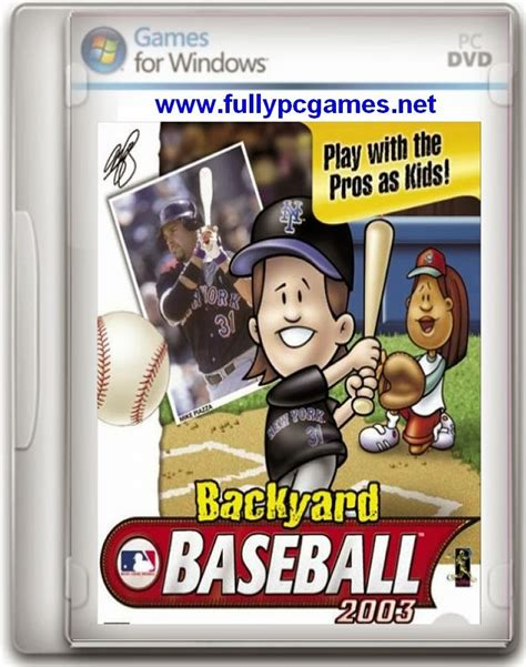 Backyard Baseball 2003 Version by Backyard Baseball 2003 Free Version For
