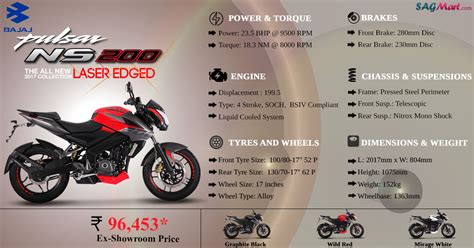 bajaj pulsar 200ns price in india as on 12 march 2015 bajaj pulsar 200ns abs price india specifications