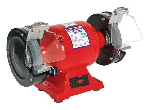 sealey bench grinder sealey bg150xd 99 230v heavy duty 150mm bench grinder