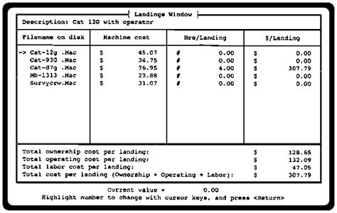 unit cost 6 pace a computer program for cost calculations