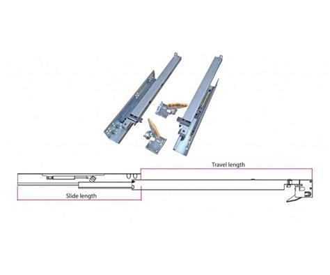 guide per cassetti guide per cassetti a estrazione totale con ammortizzatore