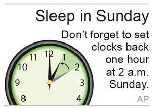 hickory dickory dock it s time to turn back the clock coz