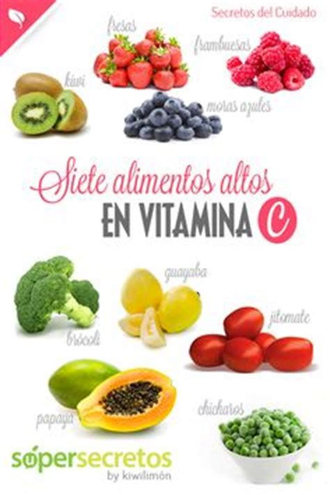 alimentos con m s vitamina c 1000 images about consejos saludables on pinterest