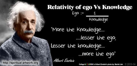 dr albert einstein biography more the knowledge lesser the ego lesser the knowledge