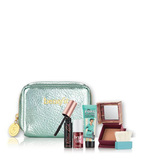 Benefit Work It Makeup Bag Cosmetics Bag work kit work day essentials makeup kit benefit