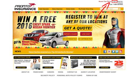 Pronto Insurance Claims by Pronto Insurance Login Make A Payment