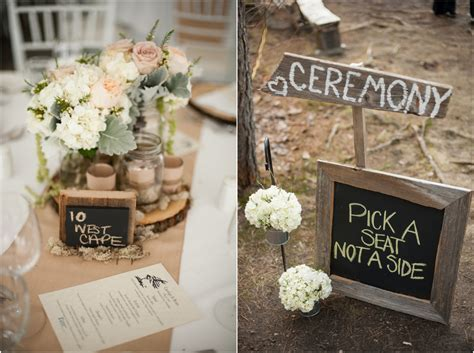 Eco Friendly Woodsy Rustic Wedding   Rustic Wedding Chic