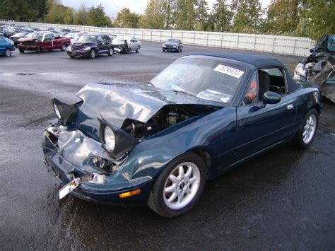 Wrecked MAZDA MX 5 MIATA #car #accident   Vehicles in